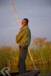 poler in okavango delta