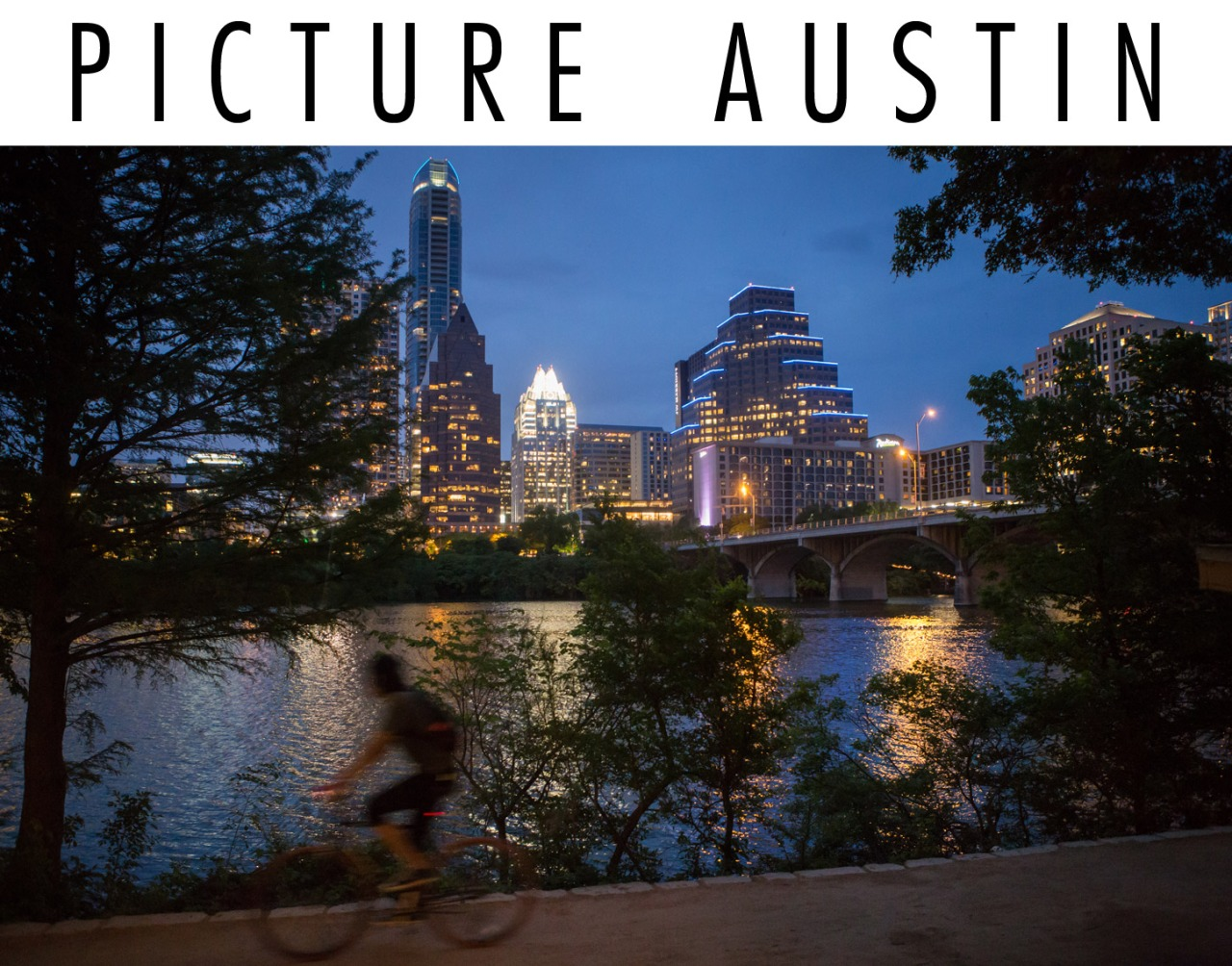 Austin skyline at twilight