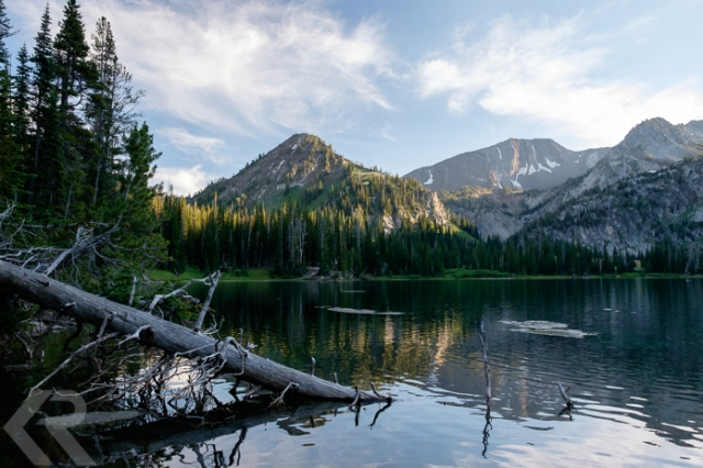 Aneroid Lake in the Wallowa Mountains of Oregon.