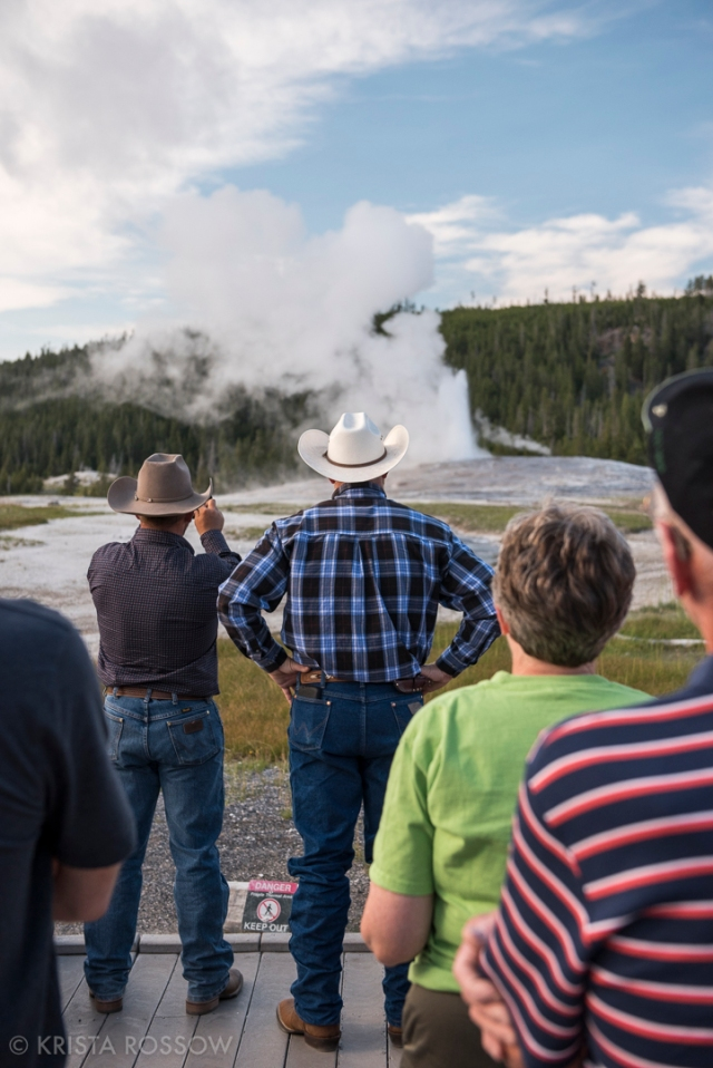 Krista-Rossow-Yellowstone-Old-Faithful-cowboys